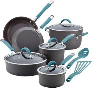 Rachael Ray Cookware Pots and Pans Set
