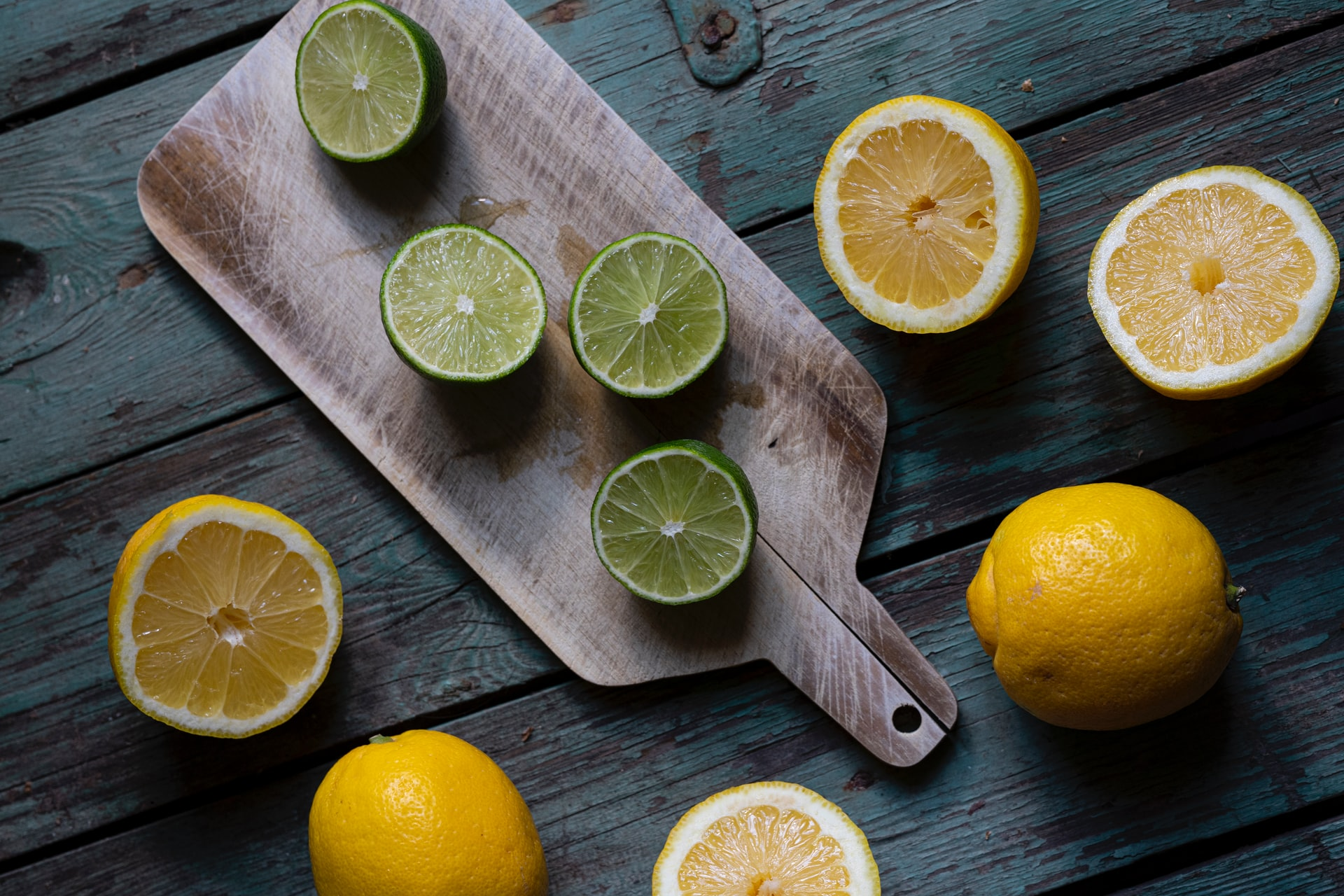 citrus fruits on board