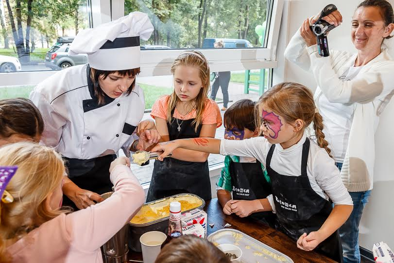COOKING MASTER CLASS FOR CHILDREN