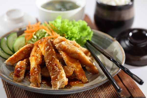 2 best dishes with teriyaki sauce